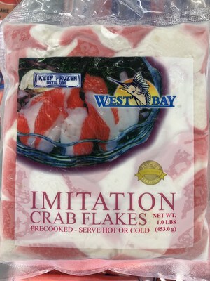 【RS】Frozen Imitation Crab Flakes 冷冻切块蟹肉棒 453g