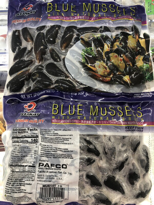 【RS】Blue Mussels 带壳青口 2lb