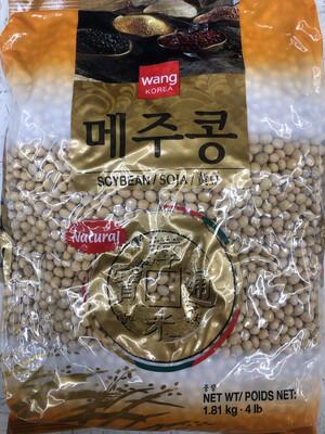 【RBG】韩国wang牌黄豆 4lb