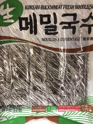 【RBF】Nouilles a l'oriental韩国进口 荞麦面 鲜面条2.2pound