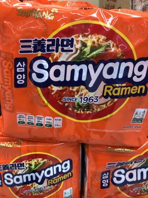 【RBG】韩国三养牛肉汤面 5packs