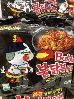 【RBG】韩国三养超辣鸡肉味拌面 5packs