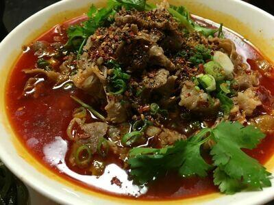 【面面聚道】Beef W. Spicy Szechuan Pepper 椒香肥牛