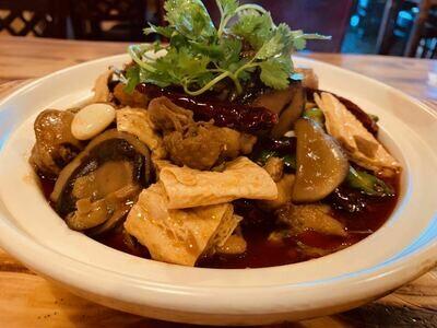 【面面聚道】Chicken Braised W. Brown Sauce 黄焖鸡