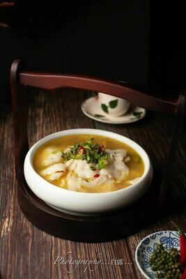 【面面聚道】Fish Fillet & Tofu W. Spicy Szechuan Pepper 青花椒豆腐鱼