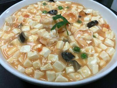 【面面聚道】Shrimp W. Bean Curd 蟹黄虾仁豆腐