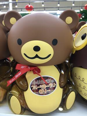 【RBG】日本可爱的熊熊果冻 棕熊熊