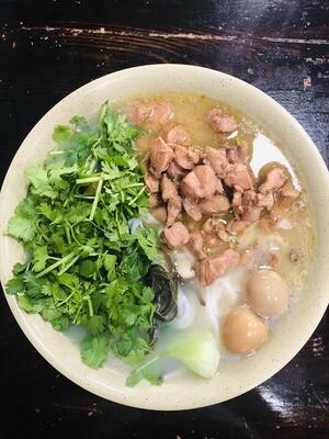 【九福米线】Chicken W. Potato/Rice Noodles原味鸡丁米线/土豆粉