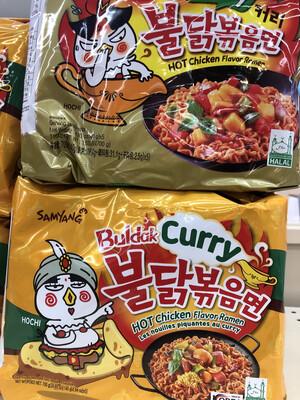 【RBG】三养辣咖喱鸡肉拉面 5pk