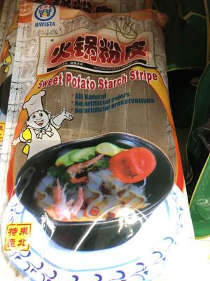 【RBG】Sweet Potato Starch Stipe 火锅粉皮 500g