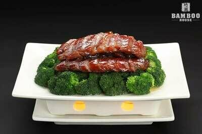 【竹苑】Honey-Stewed BBQ Pork 叉烧肉(仅周四周五)