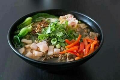 【花溪王】Pickled Pepper W. Vermicelli/Noodle 泡椒牛肉粉/面