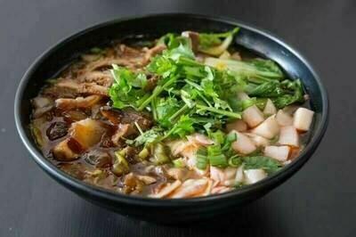 【花溪王】Beef Offal W. Vermicelli/Noodle 牛杂粉/面