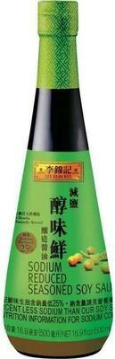 【RBG】李锦记 减盐 醇味鲜酱油 500ml