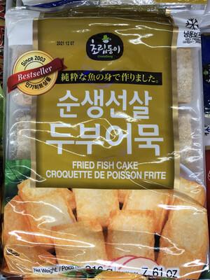 【RBF】Korea Fried Fish Cake 韩国鱼豆腐 216g