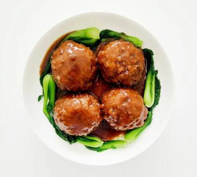 【新疆烧烤】Braised Pork Ball in Brown Sauce 特价红烧狮子头 优惠截止至2月1日 (Closed Tuesday)