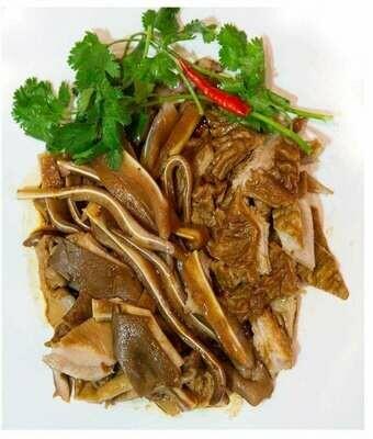 【精武鸭脖】Salted Pig Stomach and Salted Pig Ear Mix 猪肚与猪耳双拼 (Closed Monday)