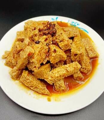 【九福米线】Gluten W. Sesame Sauce 卤面筋