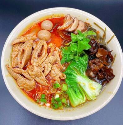 【九福米线】Intestines W. Potato/Rice Noodles 肥肠米线/土豆粉