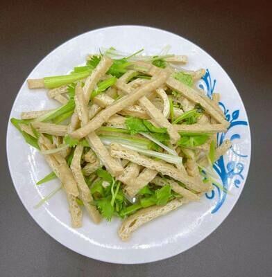 【九福米线】Cool Dish Fried Tofu 拌卤豆腐丝