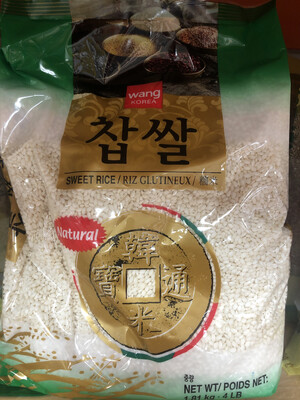 【RBG】韩国糯米 4lb