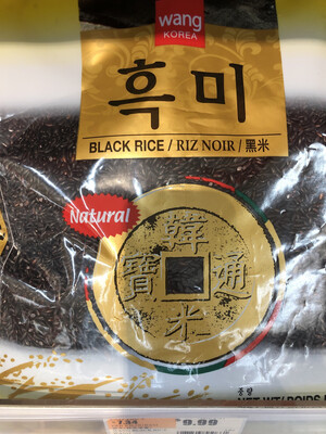 【RBG】韩国wang牌黑米 4lbs
