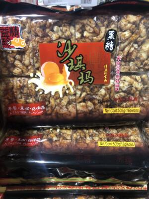 【RBG】益精珍 黑糖焦糖 萨其马 505g