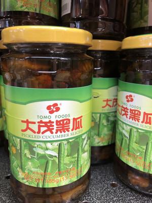 【RBG】大茂黑瓜 385g 台湾风味酱菜 酱渍黄瓜罐头
