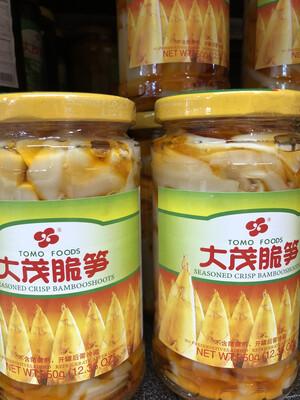 【RBG】大茂脆笋 250g 台湾风味酱菜 酱渍嫩笋片罐头