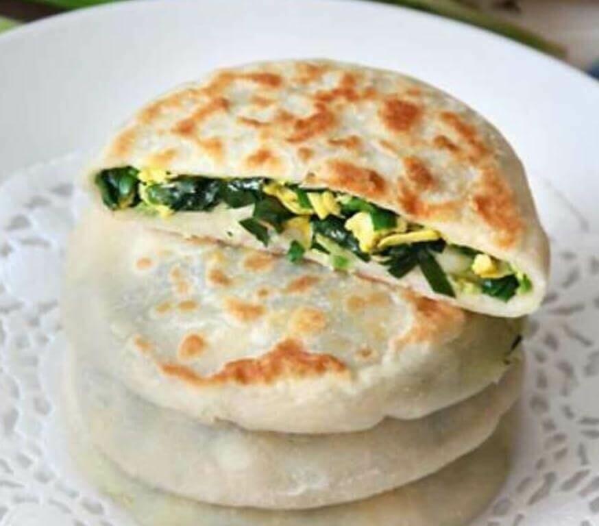 【小沈阳】hives & Egg Pie (4 Pcs) 鸡蛋韭菜馅饼 4个/份