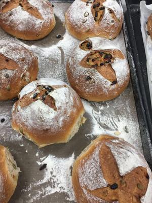 【喜甜】wholemeal bread 三天低温发酵 全麦南瓜籽枸杞 面包(Friday Only)