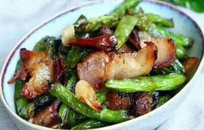 【竹苑】BBQ Pork Green Beans 肉沫四季豆(仅周四周五)