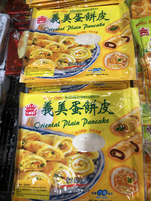 【RF】Oriental Plain Pancake 义美蛋饼皮 250g 香Q够劲,百吃不厌