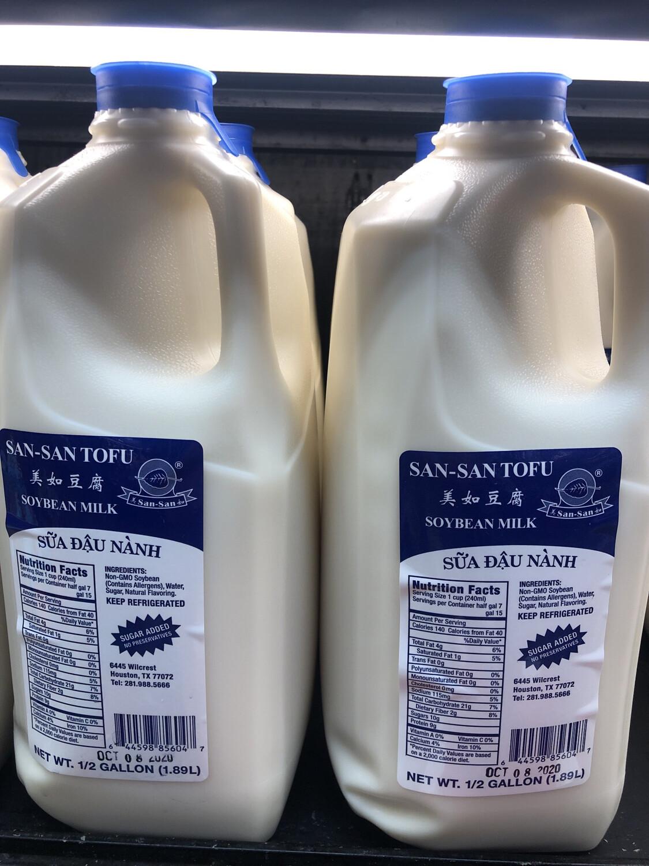 【RDF】Soybean Milk Sugar Added 美如甜豆浆 1/2 Gallon