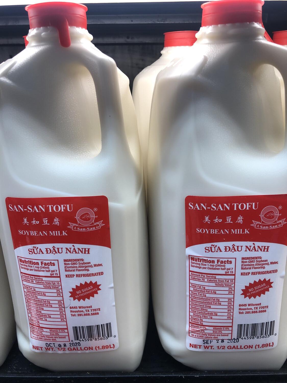 【RDF】Soybean Milk No Sugar 美如无糖豆浆 1/2 Gallon