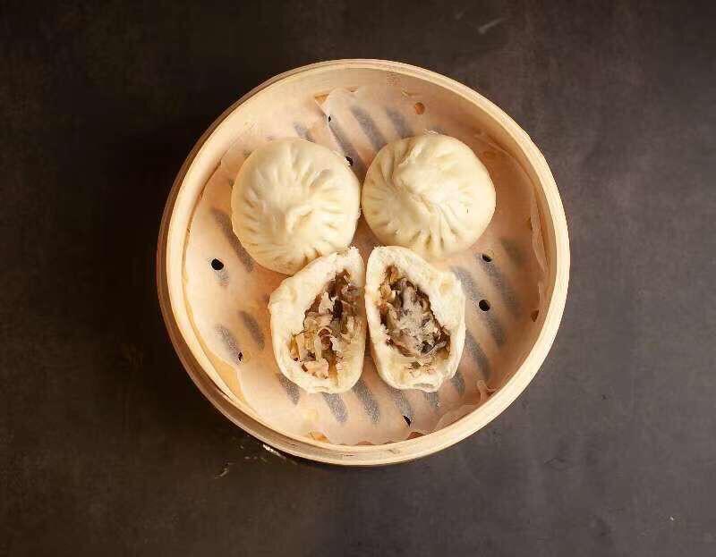 【包十一】Mushroom & Bean Curd & Vegetable Bun 3pcs 香菇豆干粉丝素菜包 (Closed Tuesday)