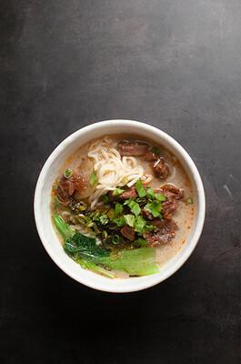 【包十一】Beef Brisket Rice Noodles 红烧牛肉米粉 (Closed Tuesday)