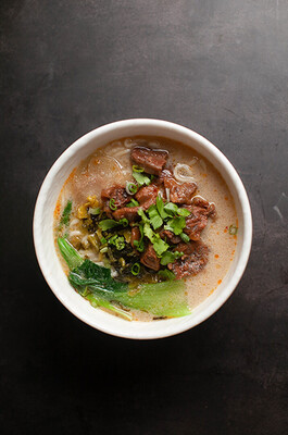 【包十一】Braised Pork Ribs Rice Noodles 红烧排骨米粉(Closed Tuesday)