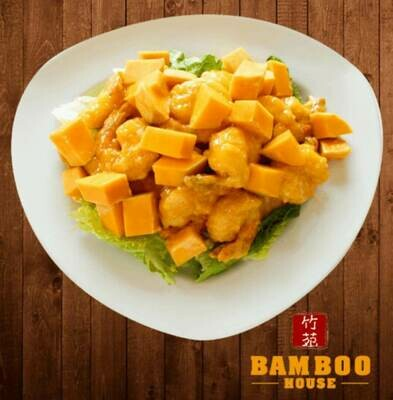【竹苑】Mango Shrimp 芒果虾(仅周四周五)