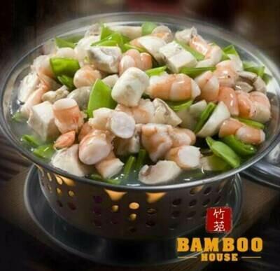 【竹苑】Shrimp with Lobster Sauce 虾龙湖(仅周四周五)