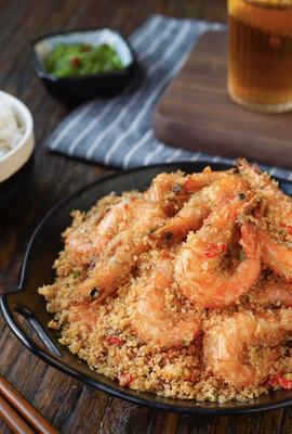 【竹苑】Bread shrimp  避风塘炒虾(仅周四周五)