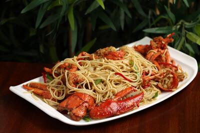 【竹苑】Spaghetti Lobster 黑胡椒龙虾意面(仅周四周五)