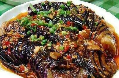 【小沈阳】Grilled Eggplant W. Sauce 酱扒茄条