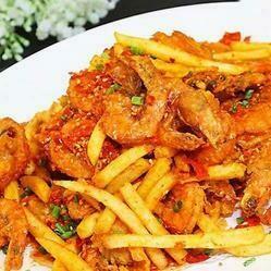 【小沈阳】Spicy Shrimp French Fries 香辣薯条虾