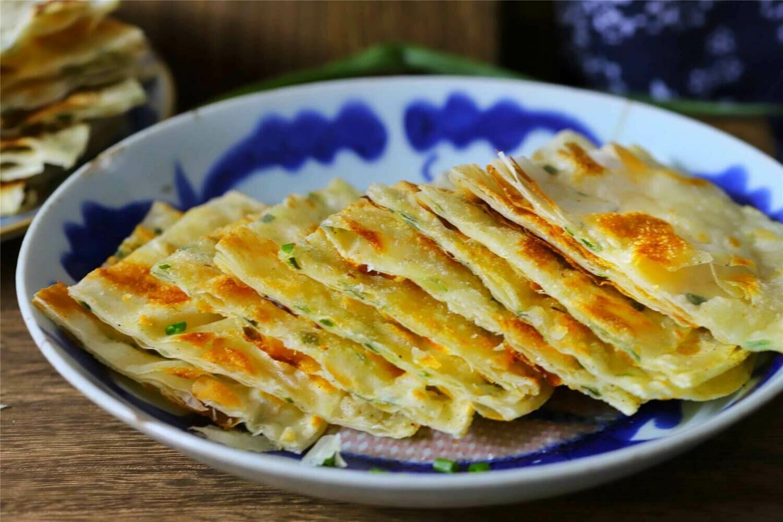 【小沈阳】Scallion Pancake 葱油饼