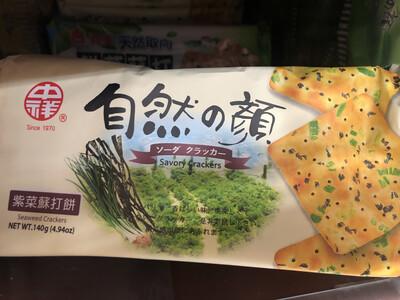 【RBG】紫菜苏打饼干 140g