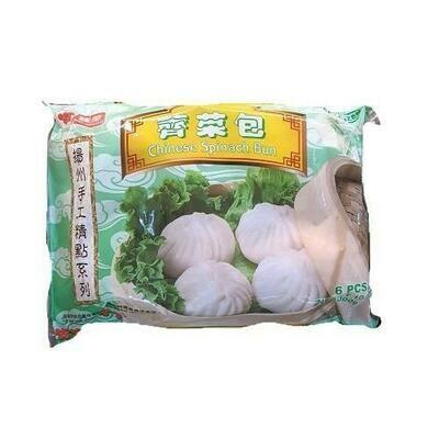 【RF】Chinese Spinach Bun 味全扬州手工 荠菜包~6PCS 300g