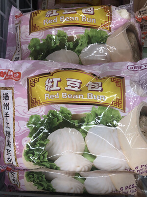 【RF】Red Bean Bun 味全扬州手工 红豆包~6PCS 300g