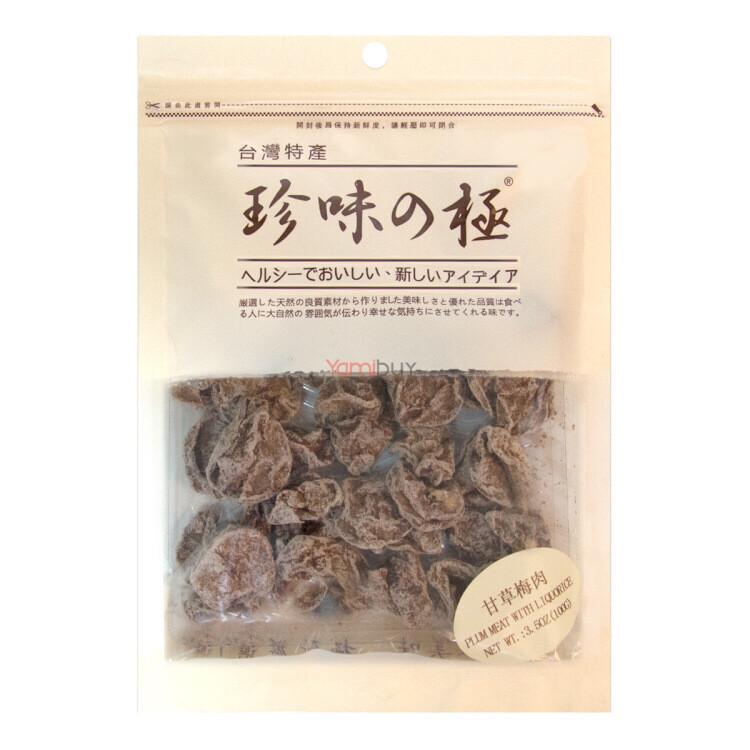 【RBG】Plum Meat With Liquorice 台湾特产 甘草梅肉 100g