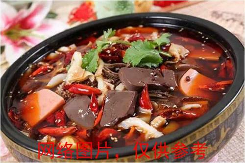 【湘浙汇】Blood Cake with Chili Sauce毛血旺(CLOSED MONDAY)